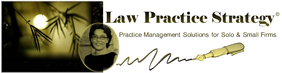 Law Practice Strategy